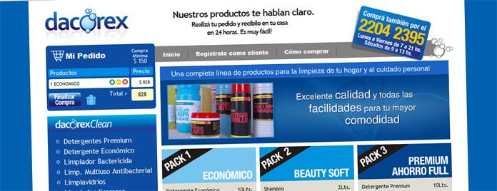 K bala web con carrito de compras dacorex - Central de compras web ...